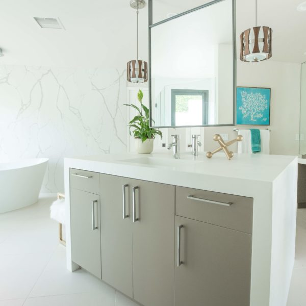 corian bathroom vanity
