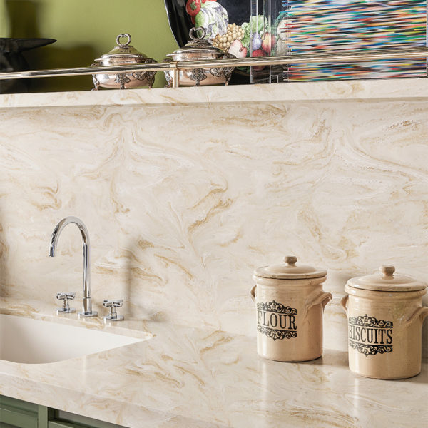 corian kitchen backsplash