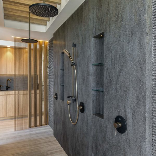 corian solid surface shower