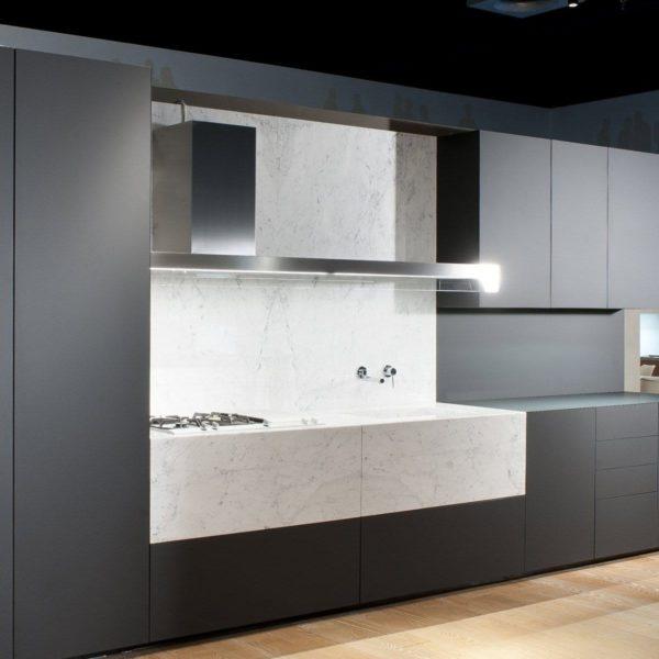 fenix quartz kitchen