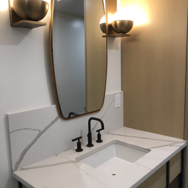corian quartz bathroom vanity