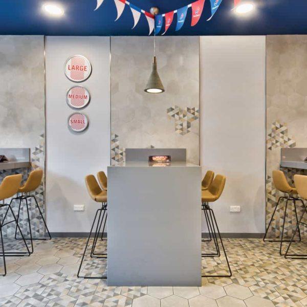lapitec sintered stone - food service tabletops