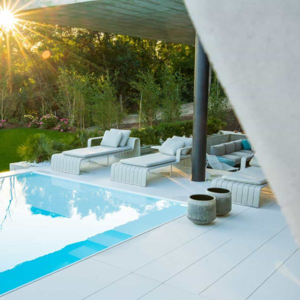 lapitec decks and patios with pool