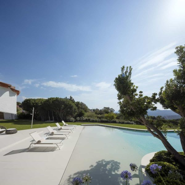 lapitec decks and patios with pool