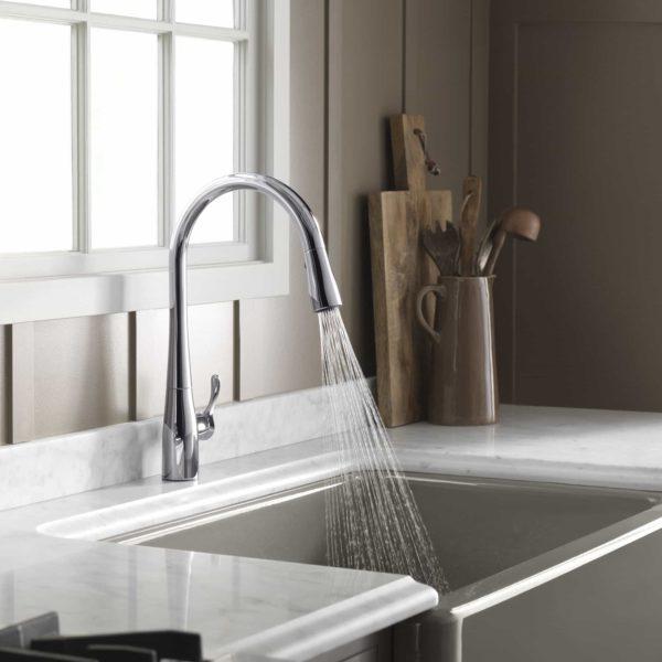 kohler kitchen sink and faucet