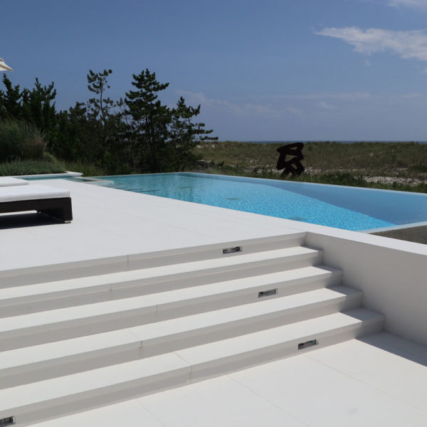lapitec decks and patios with stairs